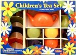Colorful Tea Set for 4