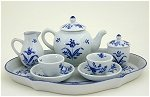 Colonial Williamsburg Tea Set for 2